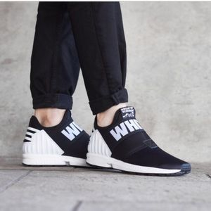 check out 6fe10 034f4 adidas Shoes - Adidas White Mountaineering Zx Flux Plus